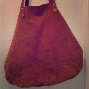 Large Suede Bag